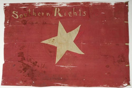 Captured Southern Rights Flag