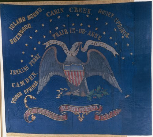 First Kansas Colored Infantry Flag