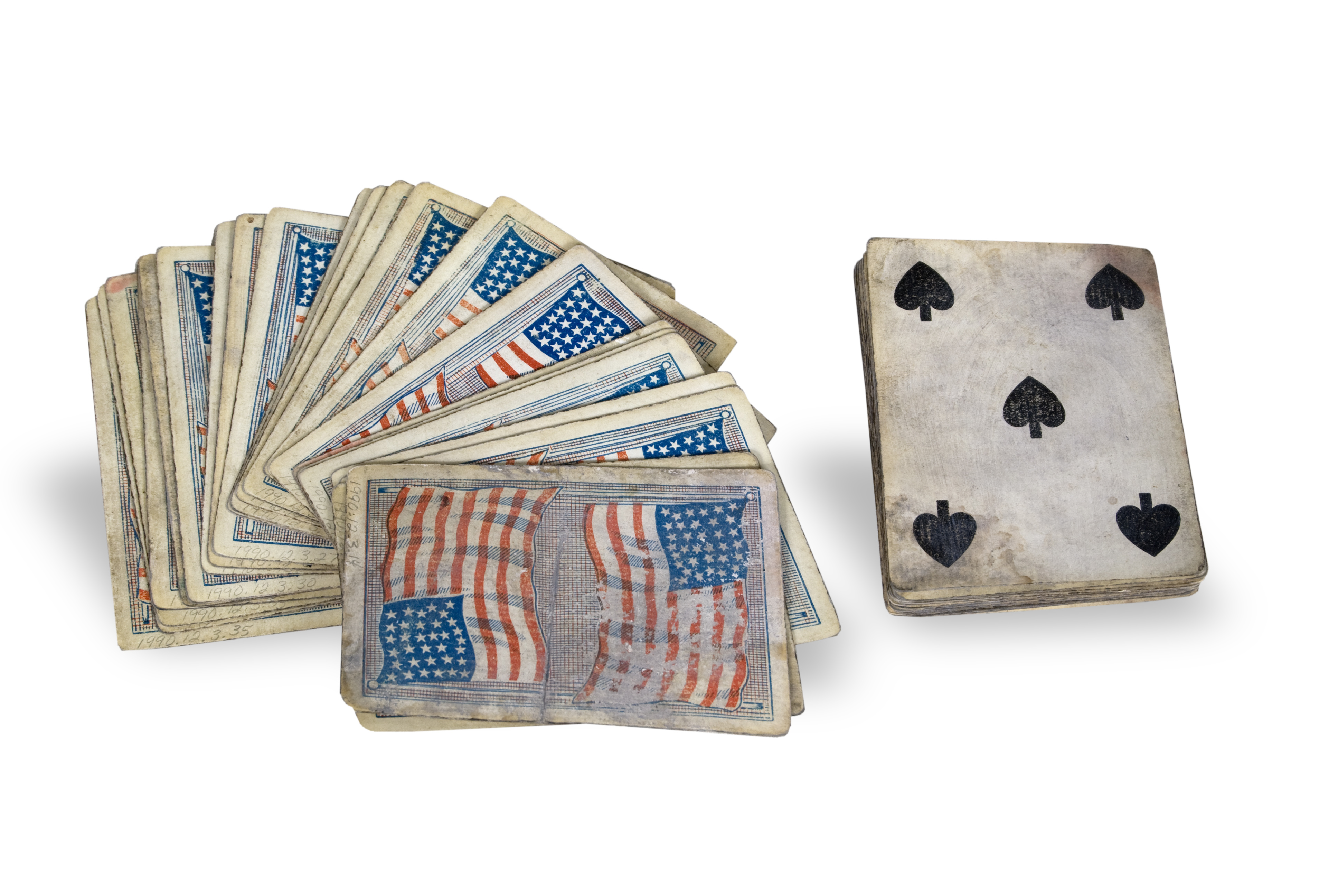 American Flag Card Deck