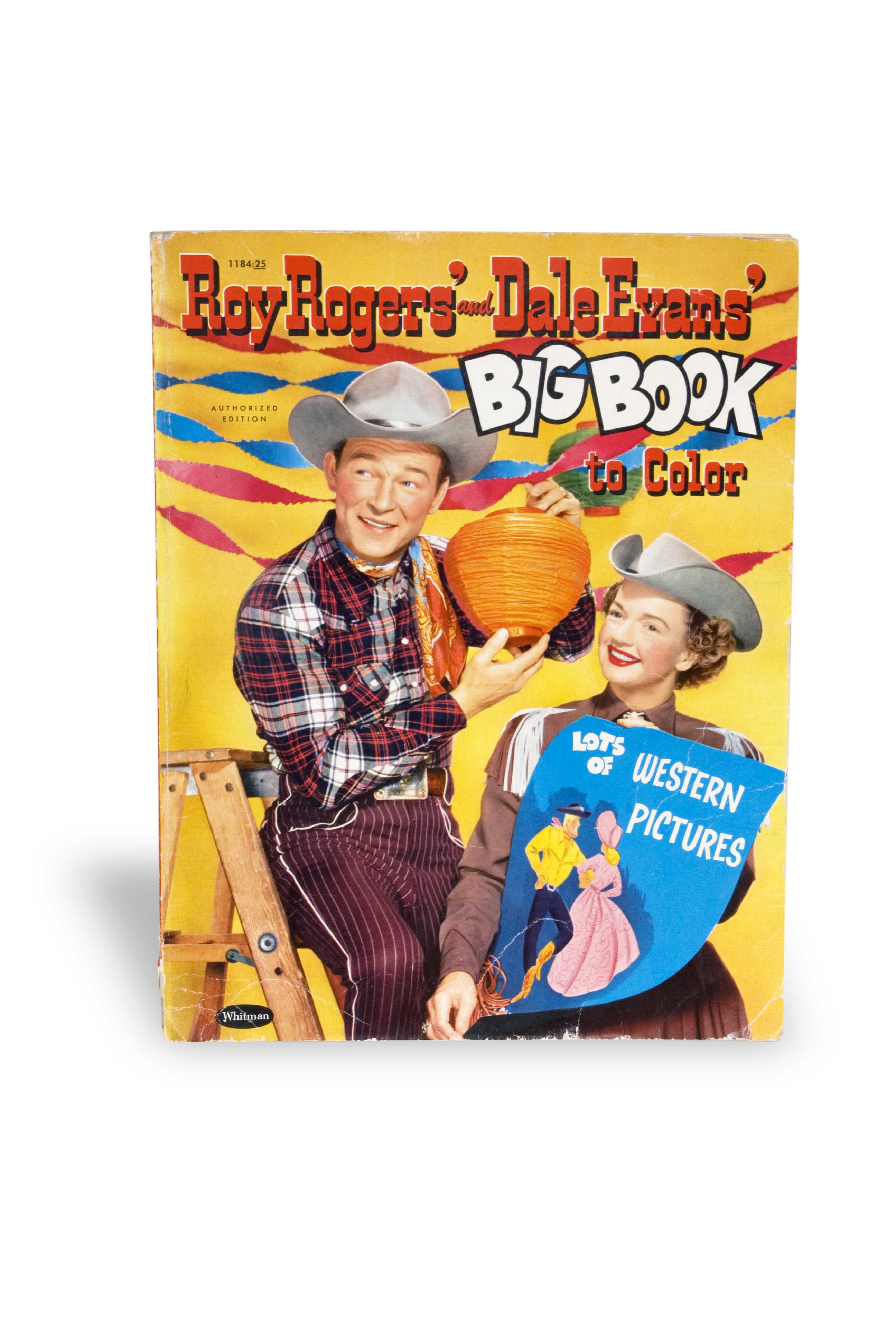 Roy Rogers and Dale Evans coloring book