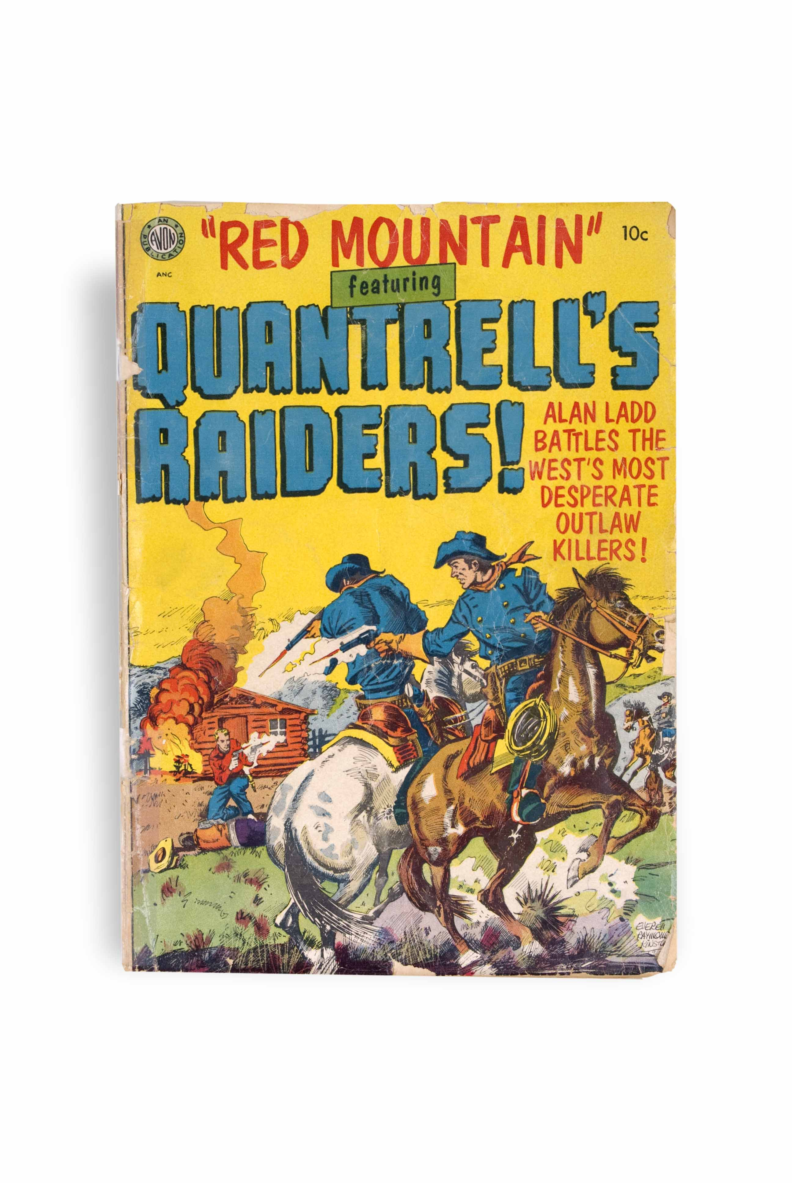 Quandrill's Raiders! comic book