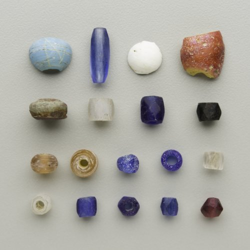 Trade beads from Canville Trading Post