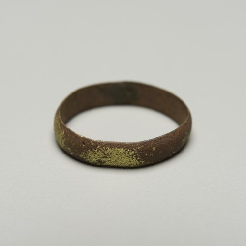 Brass ring from Canville Trading Post, 1847-1872