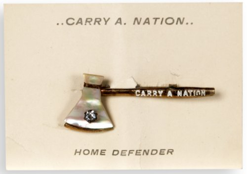 Carry Nation souvenir pin