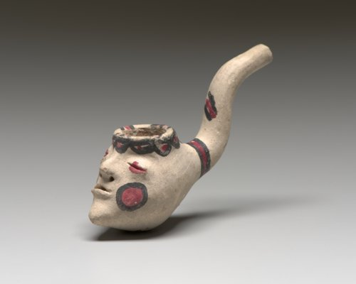 Apache Chief Geronimo's face pipe