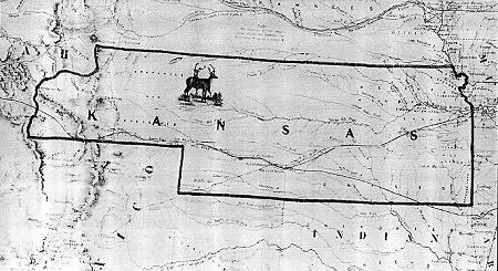 Kansas Territory borders