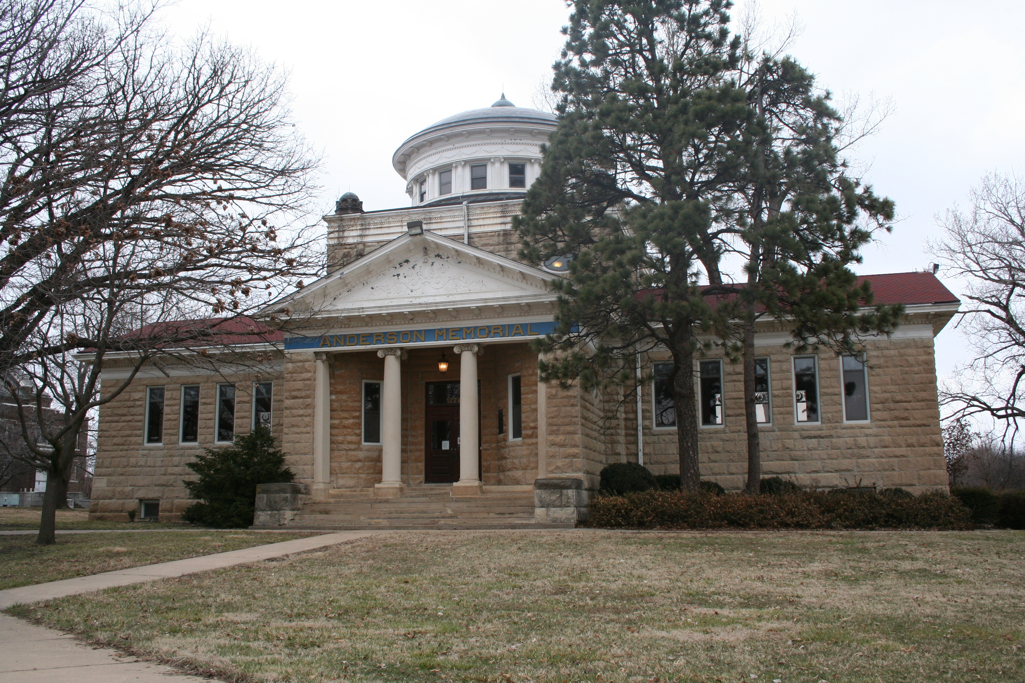 Old Anderson Memorial Library, Emporia