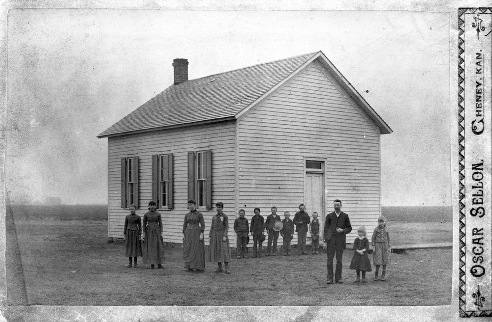 One-room School House, Sedgwick County, Kansas