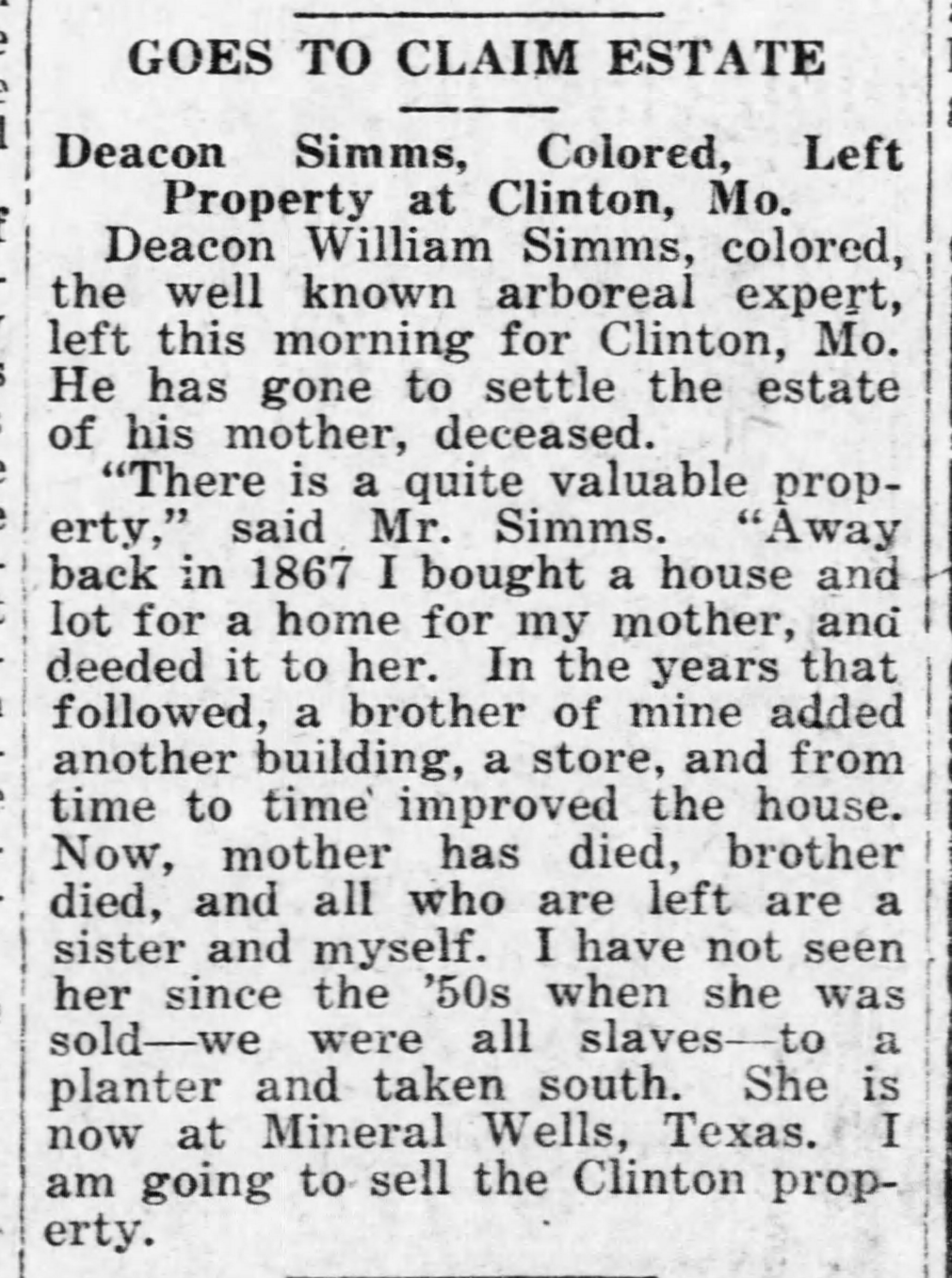 Ottawa Herald Wednesday February 21 1923 Page 8 Bill