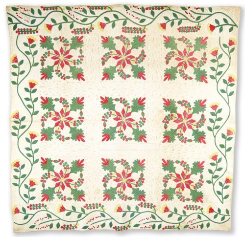 Coxcomb and Currents Quilt