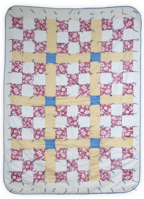 Nine-Patch Baby Quilt