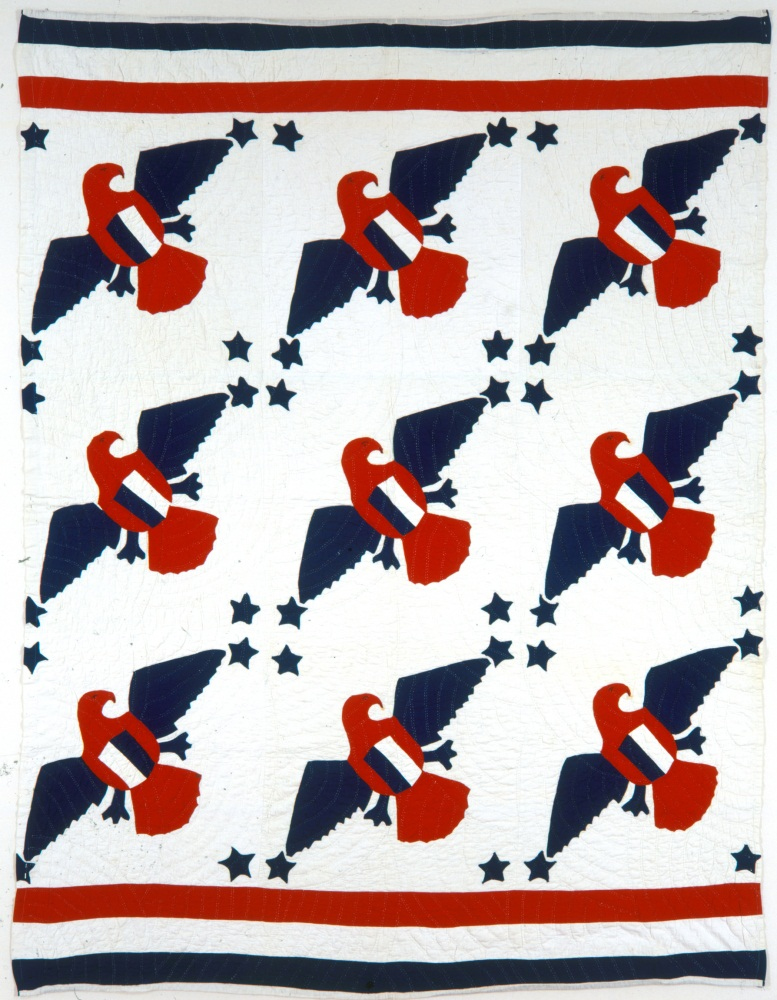 Patriotic Eagles Quilt