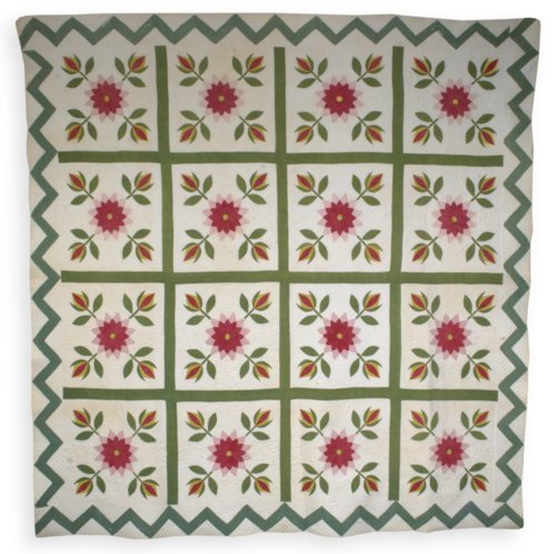 Rose and Tulip Quilt