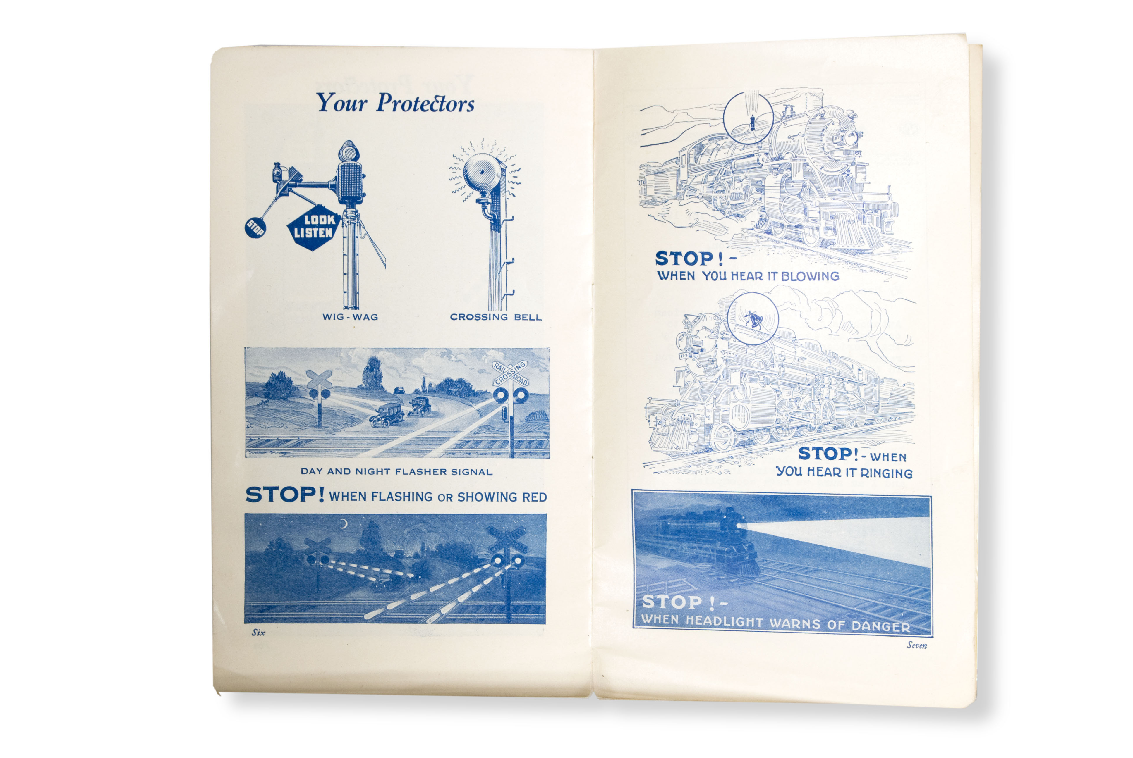 Railroad brochure