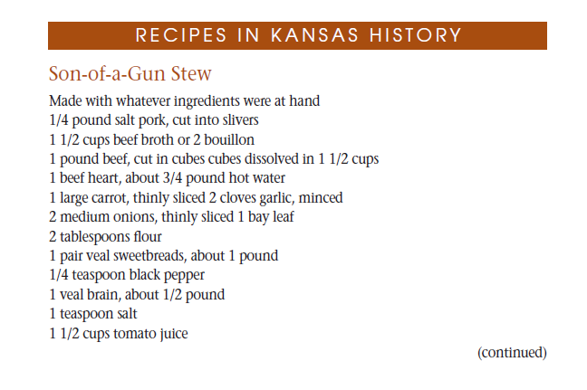 Recipe - Son of a Gun Stew