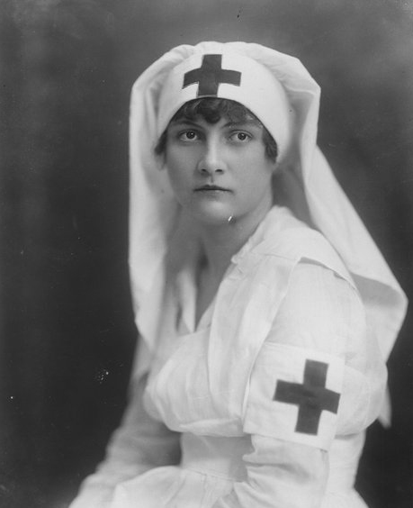 Red Cross nurse, Iola, circa 1920