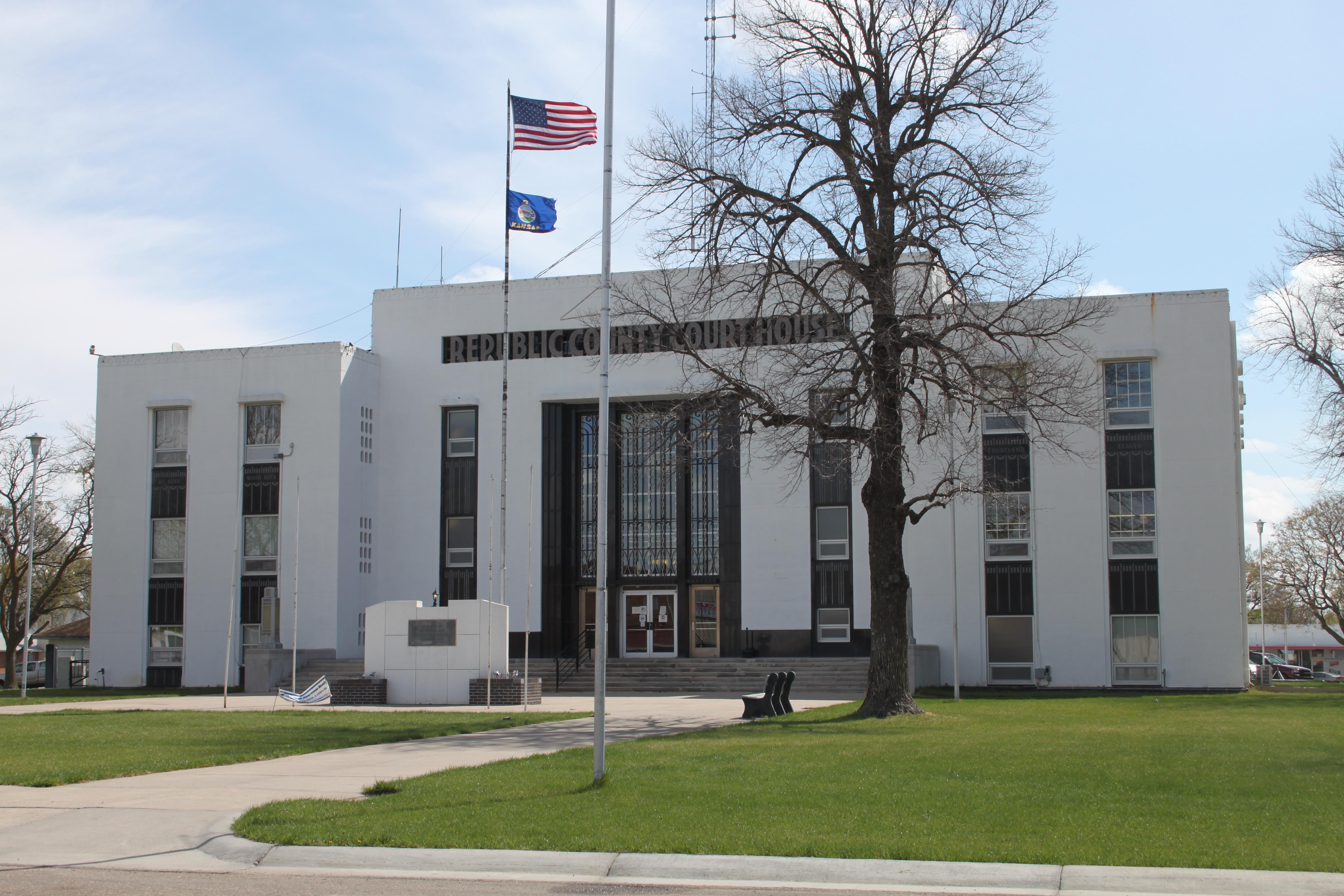Kansas republic county agenda - Republic County Courthouse