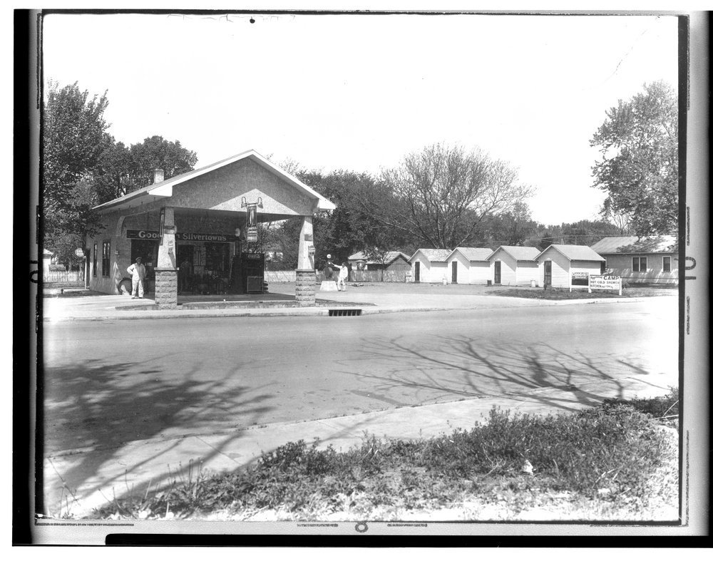 Stevenson's Filling Station and Tourist Camp