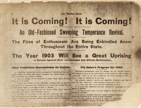 Temperance revival poster, 1902