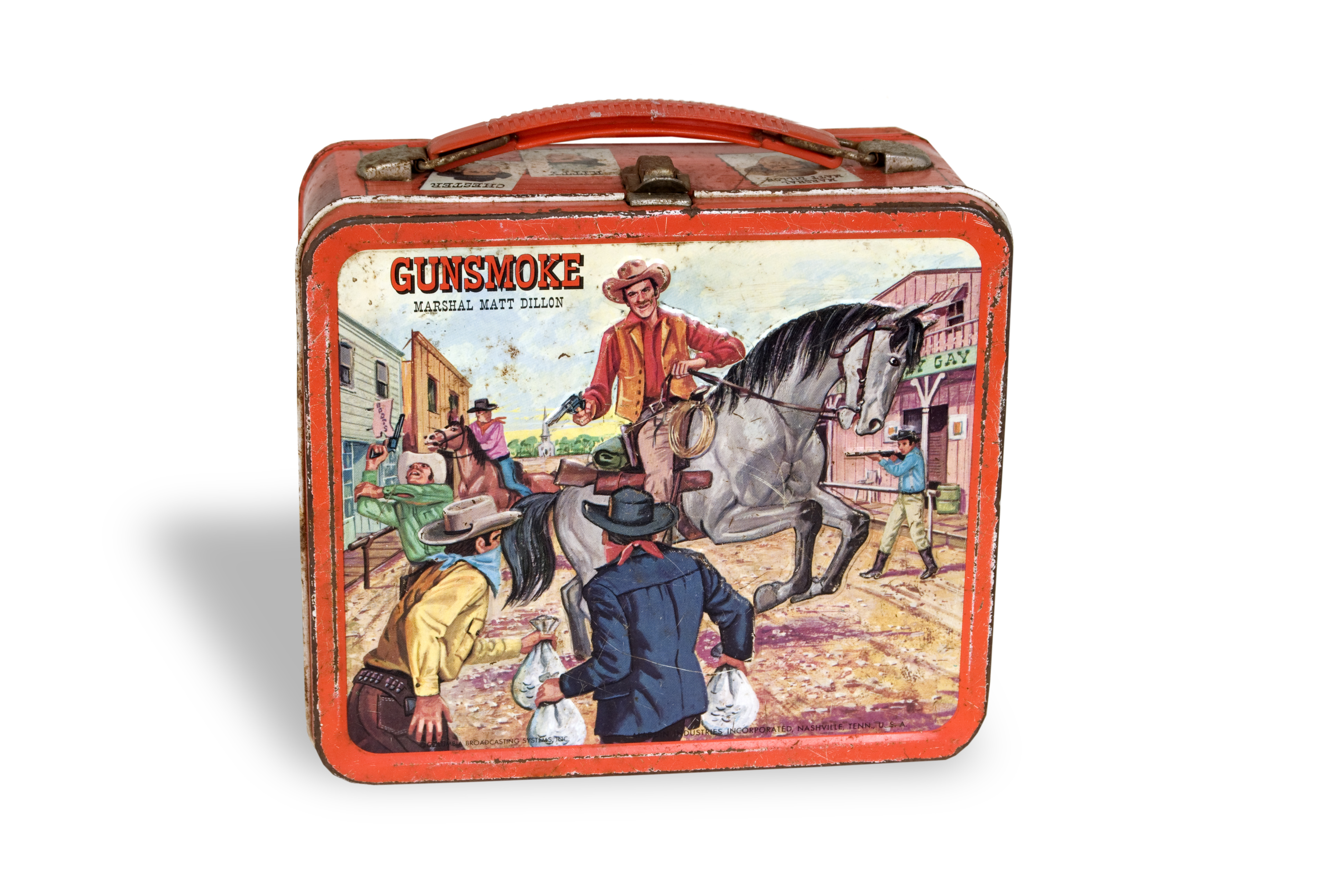 Gunsmoke lunchbox