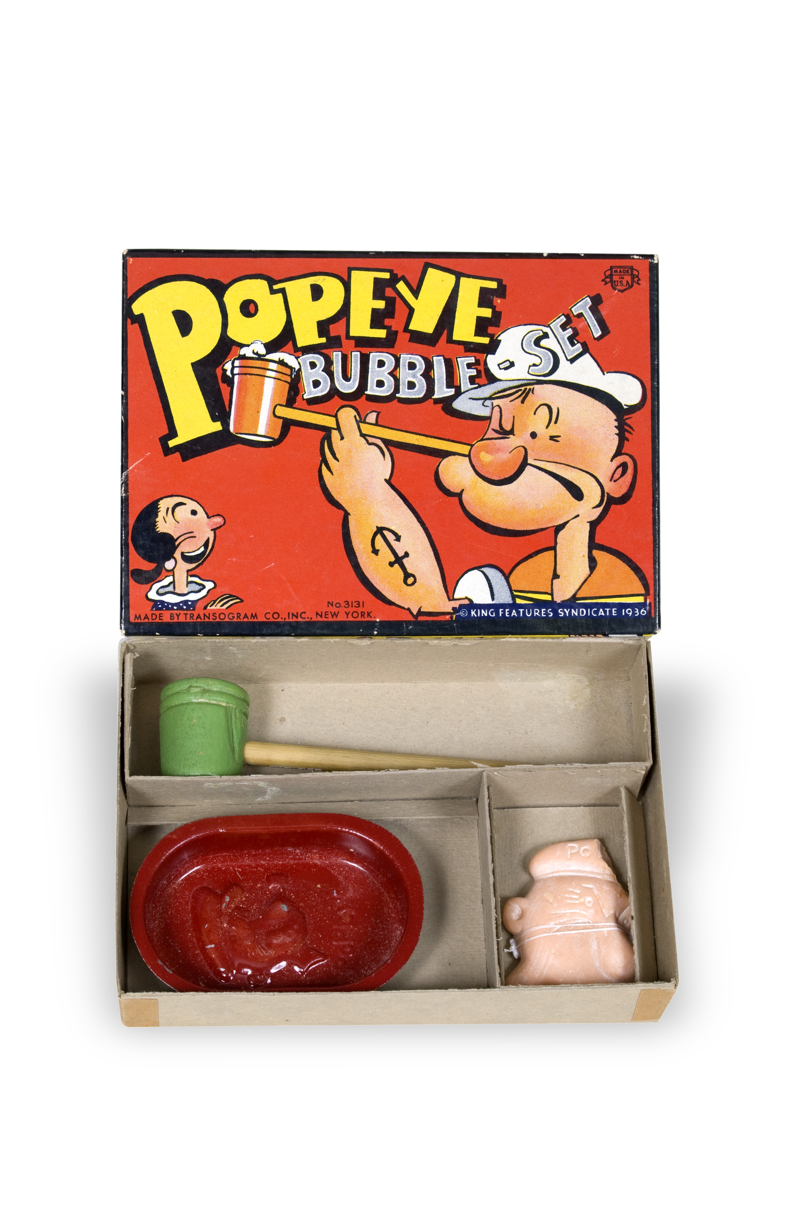 Popeye Bubble Set