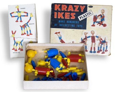 Krazy Ikes Construction Set