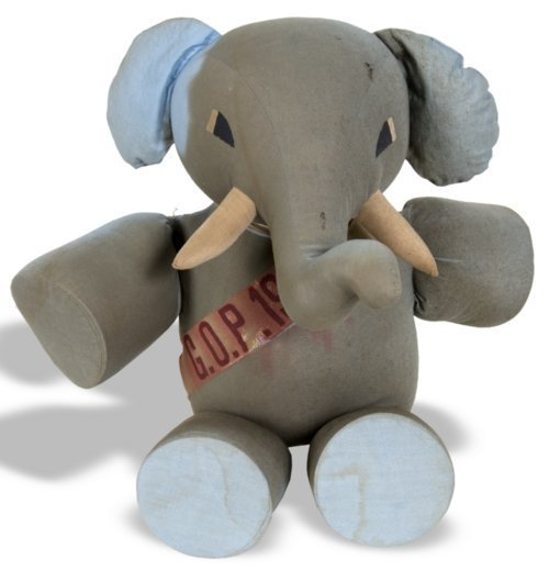 Republican Elephant Stuffed Toy