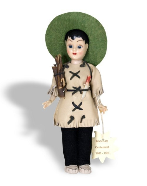 Kansas cenntennial doll