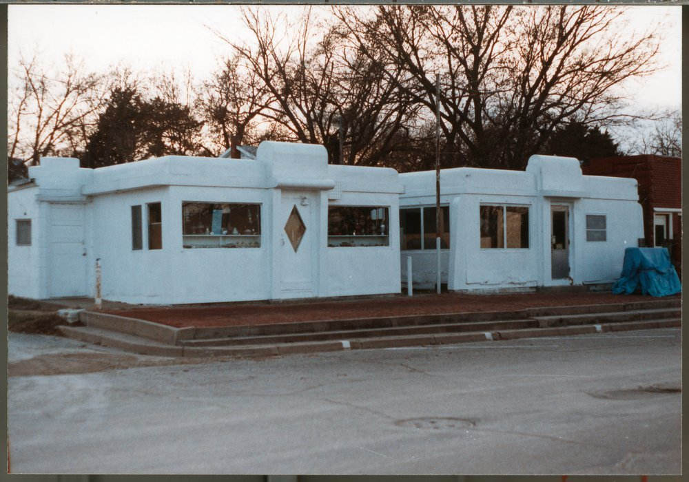 Valentine Diner in Enterprise, Kansas