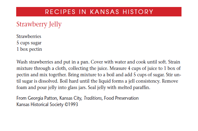 Recipe - Strawberry Jelly