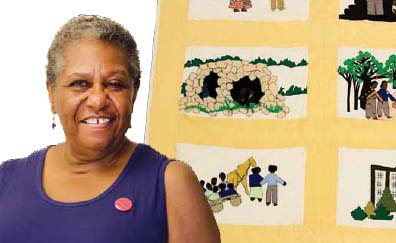 Storytelling through Quilts with NedRa Bonds