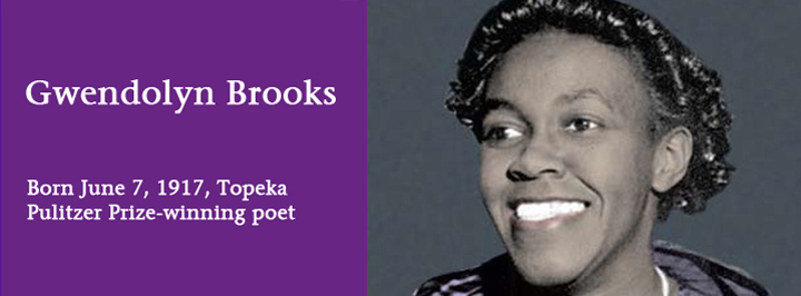 Gwendolyn Brooks, Pulitzer Prize winning writer