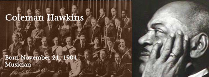 Coleman Hawkins, musician