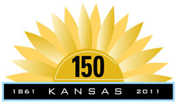 Kansas 150 logo