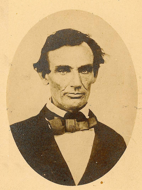 Stupendous Abraham Lincoln In Kansas Kansas Historical Society Hairstyles For Women Draintrainus