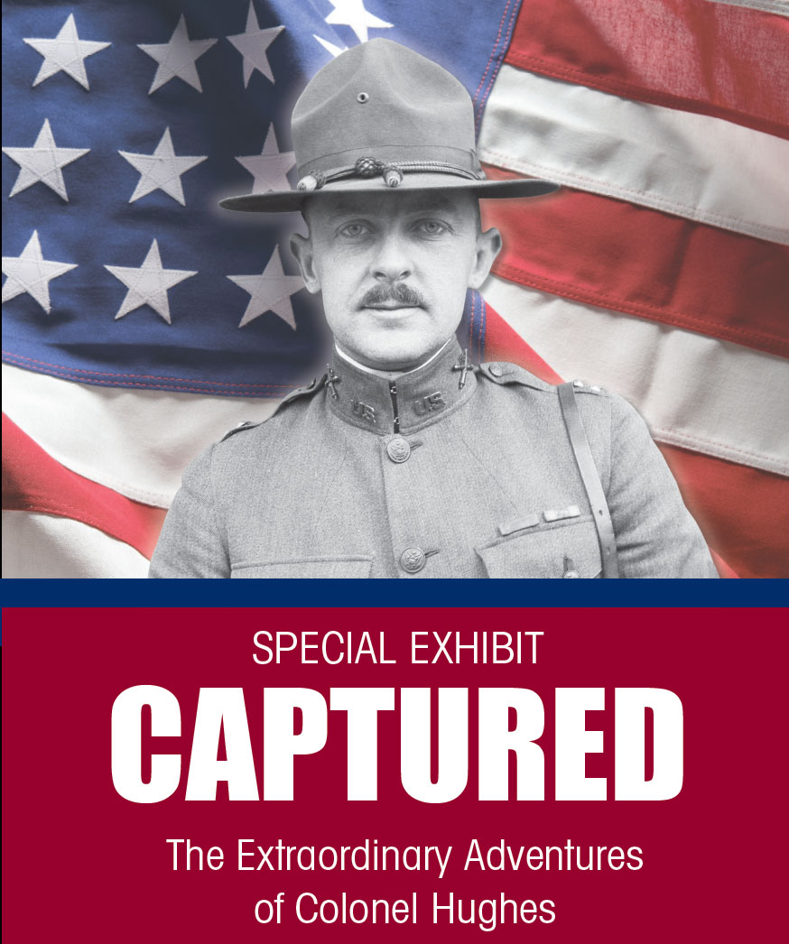 Captured: The Extraordinary Adventures of Colonel Hughes