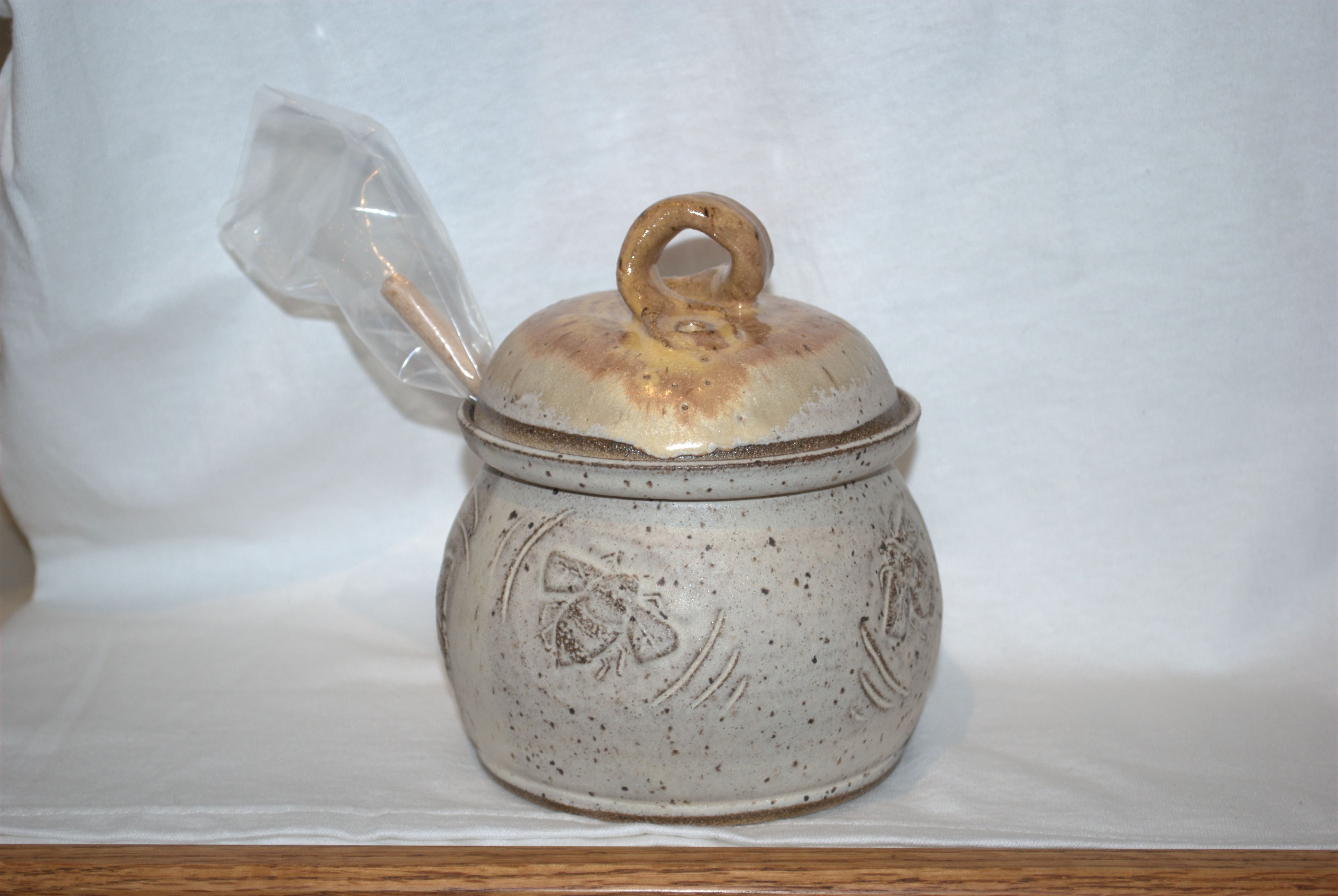 Honeypot from Pottery by Friesen Art.