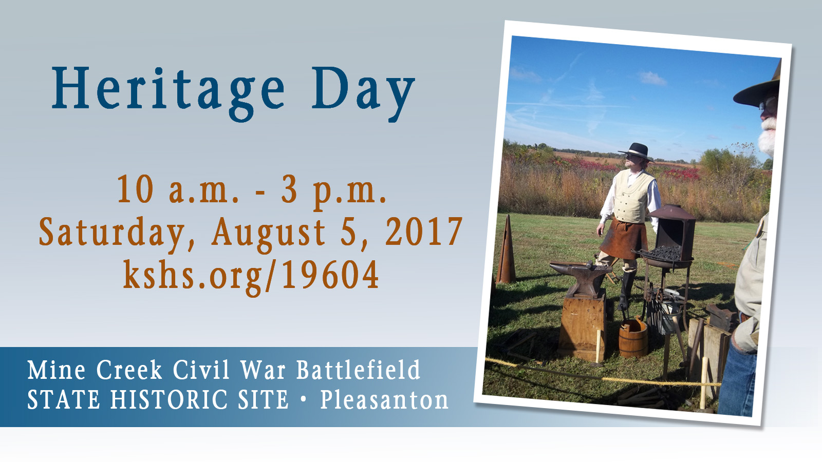 Mine Creek Heritage Day