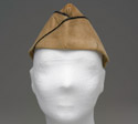 Garrison cap belonging to Colonel Hughes