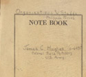 Note book belonging to Colonel Hughes, 1941-1942