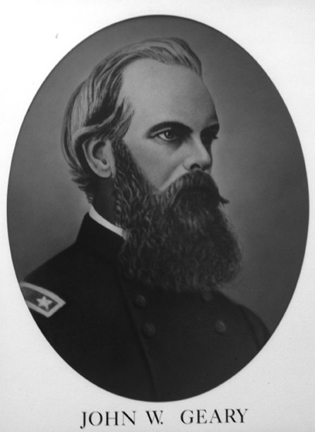John White Geary Kansapedia Kansas Historical Society