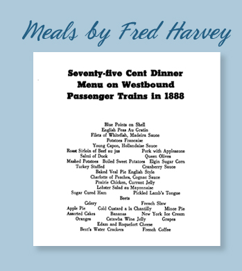 Meals by Fred Harvey