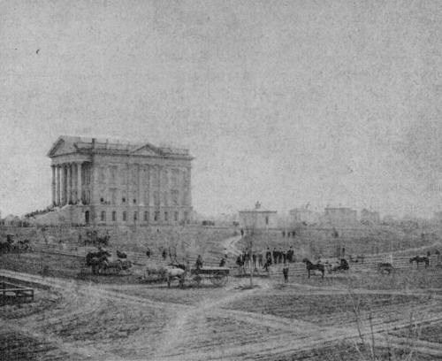 Capitol construction, 1870