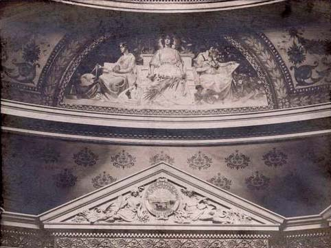 Capitol dome mural, Peace