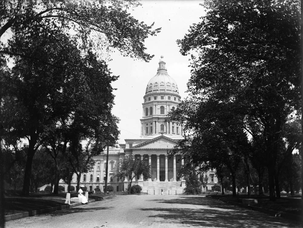 South wing of Capitol, 1910