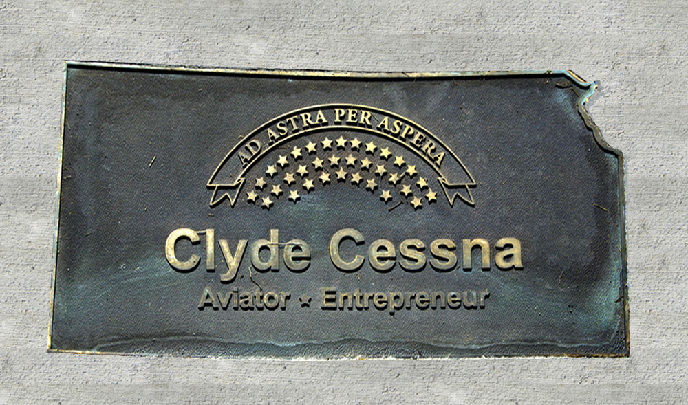 Kansas Walk of Honor - Clyde Cessna
