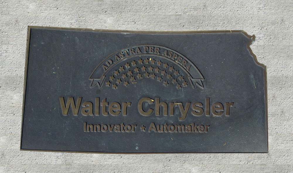Kansas Walk of Honor - Walter Chrysler