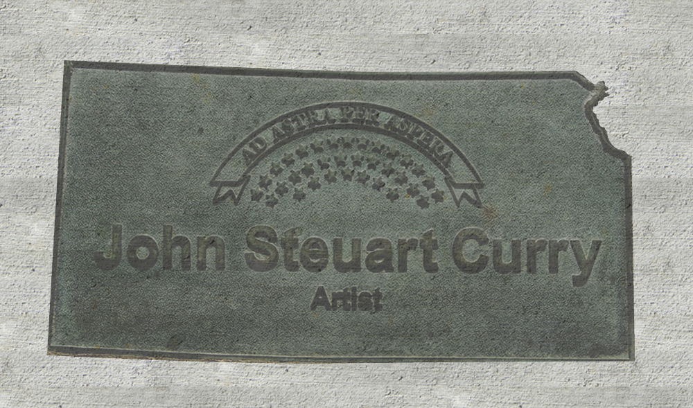 Kansas Walk of Honor - John Steuart Curry