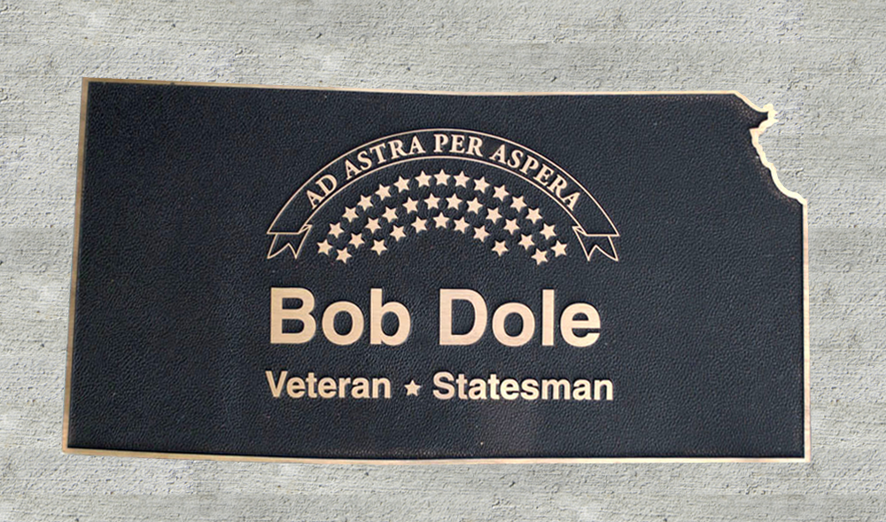 Kansas Walk of Honor - Bob Dole