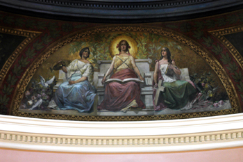 Rotunda mural today